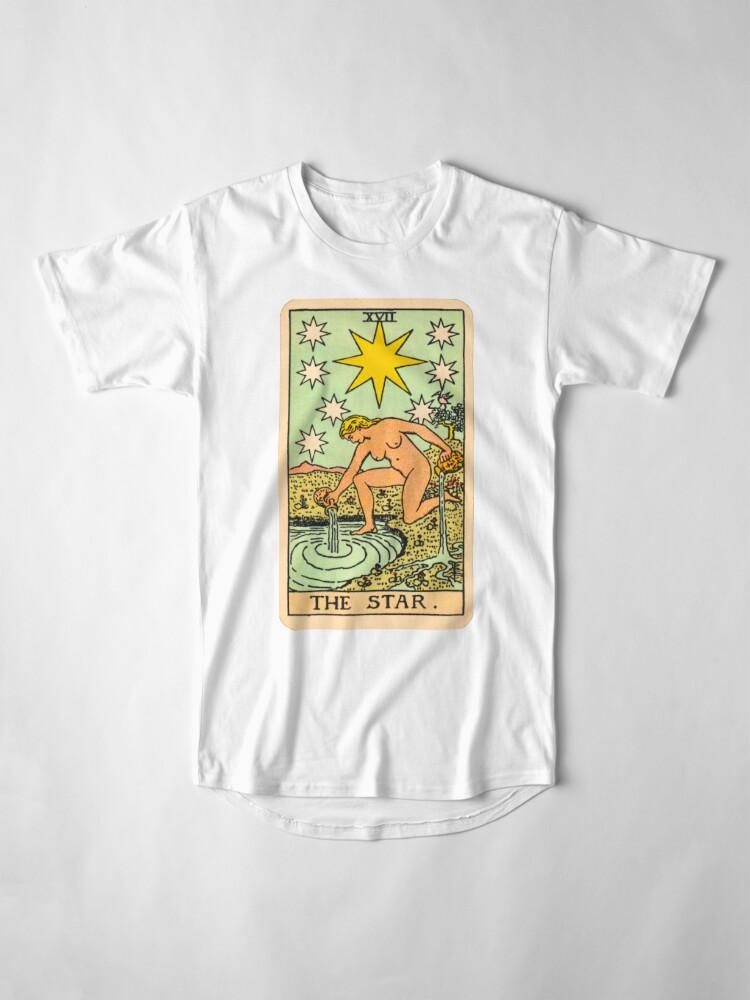 Alternative Ansicht von Tarot - Der Stern Longshirt