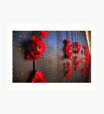 Rememberance Art Print