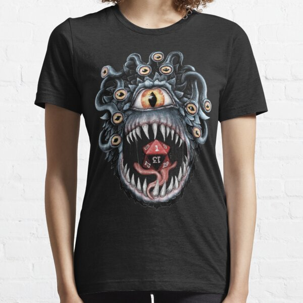 In the Beholder D20 Essential T-Shirt