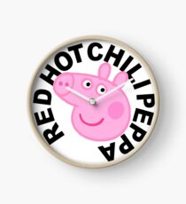Red Hot Chilli Peppa Clock