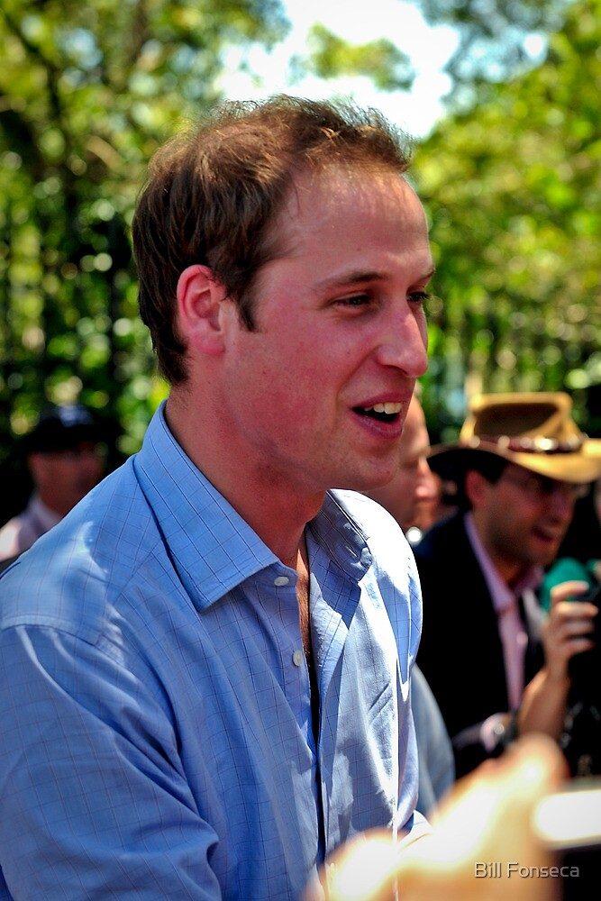 Prince William by Bill Fonseca