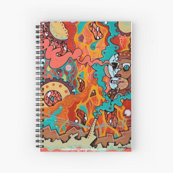 Half Truth Spiral Notebook