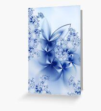 Winter Petals Greeting Card