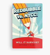 RedBubble vs. NYCC Metal Print