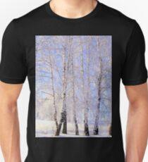 White birch. Unisex T-Shirt