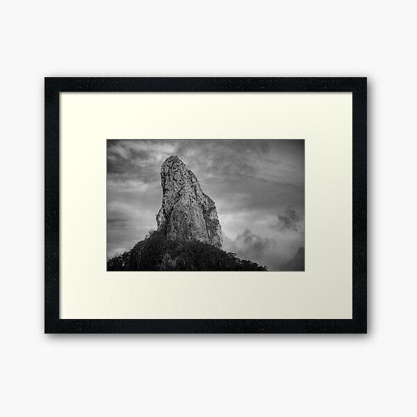 Glasshouse Mountains Framed Art Print