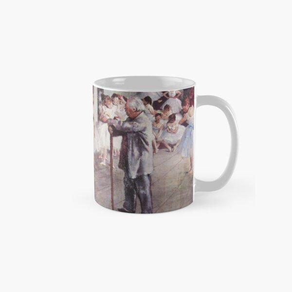 Edgar Degas French Impressionism Oil Painting Ballerinas Rehearsing Classic Mug