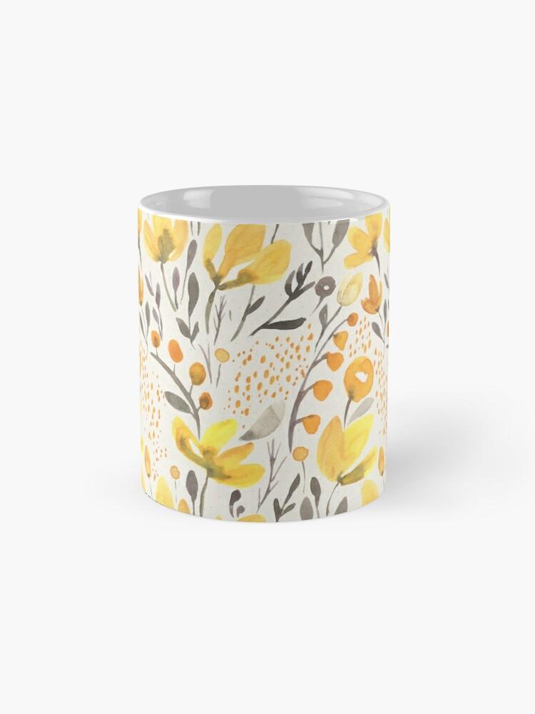 Alternate view of Yellow field Mug