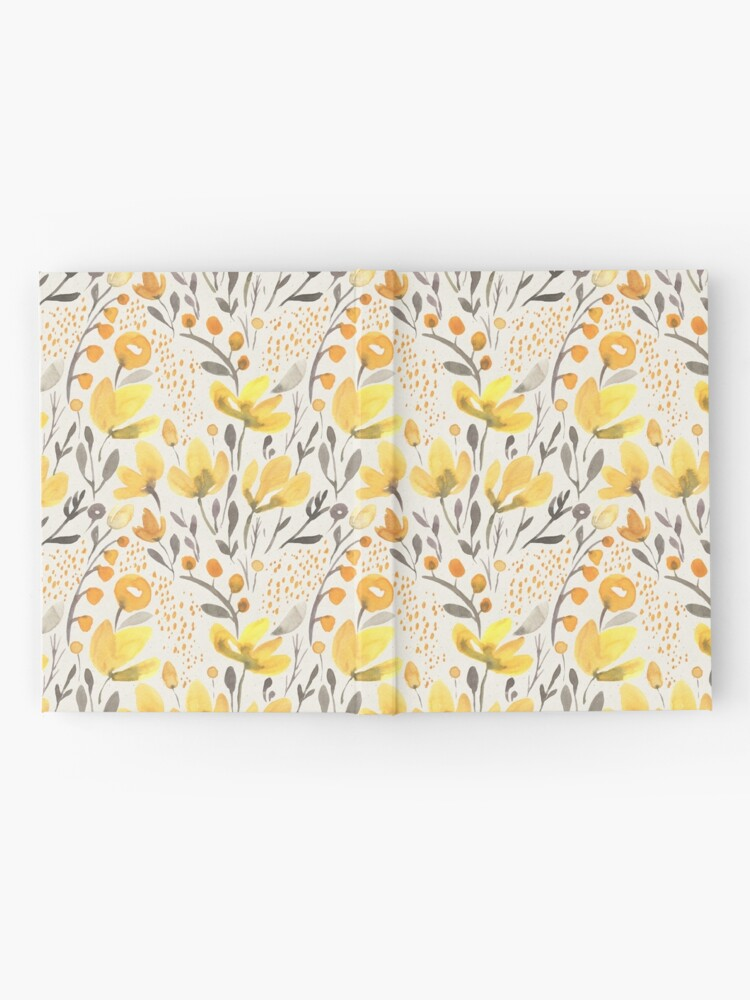 Alternate view of Yellow field Hardcover Journal