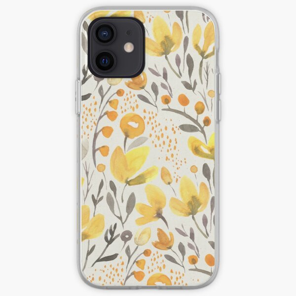 Yellow field iPhone Soft Case