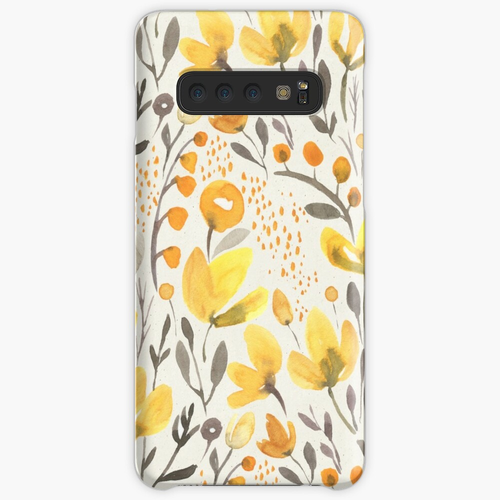 Yellow field Cases & Skins for Samsung Galaxy