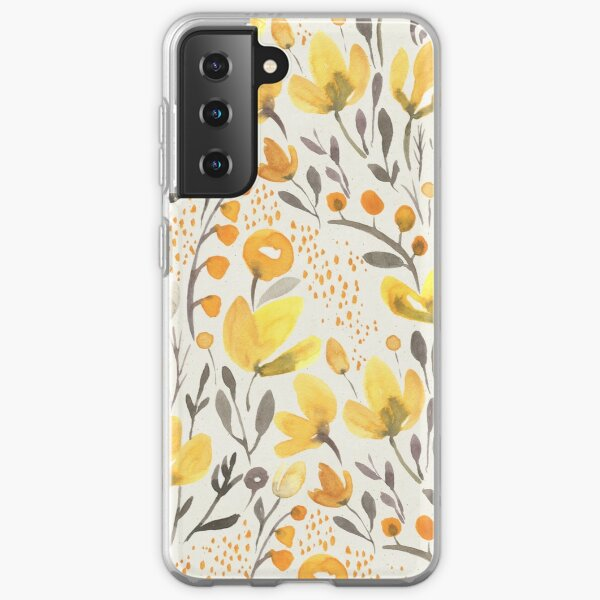 Yellow field Samsung Galaxy Soft Case