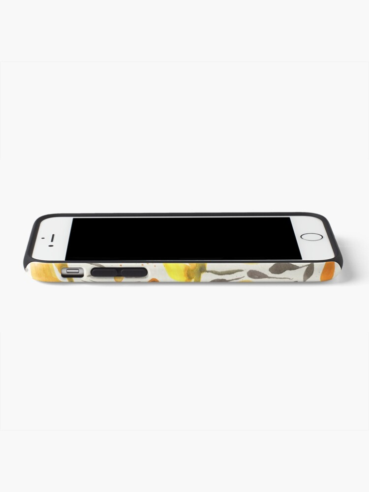 Alternate view of Yellow field iPhone Case & Cover