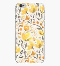 Yellow field iPhone Case