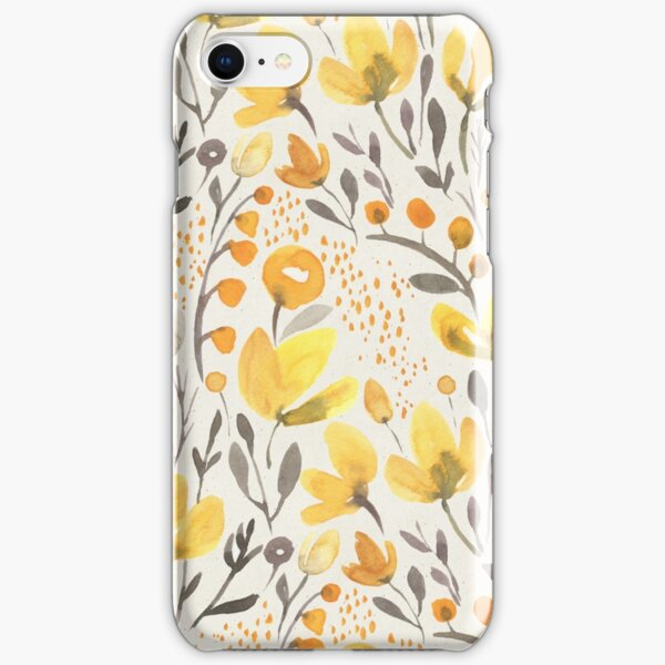 Yellow field iPhone Snap Case