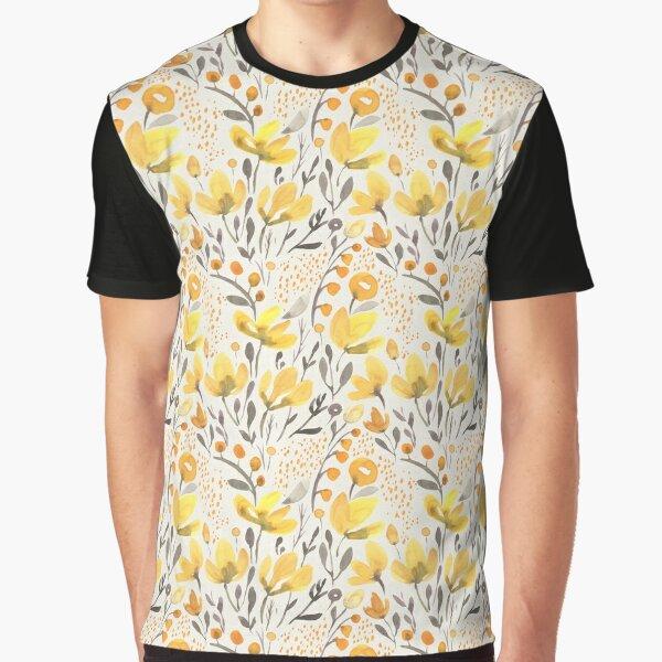 Yellow field Graphic T-Shirt