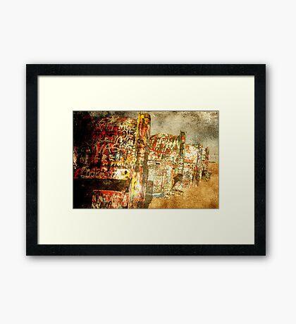Tempi Passati  Framed Print