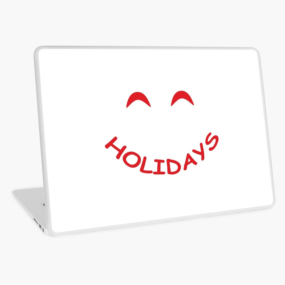 Happy Holidays! Laptop Folie