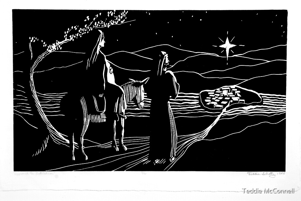 Approach to Bethlehem by Teddie McConnell