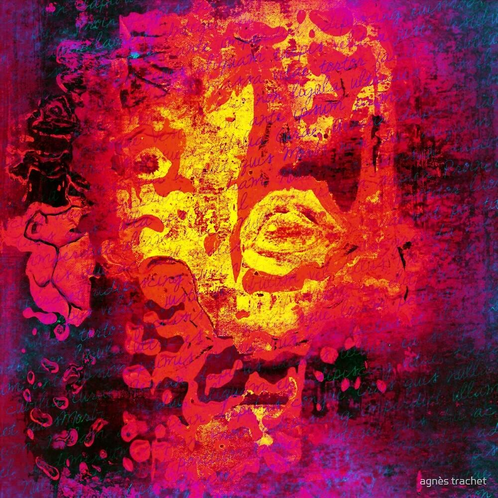 abstract portrait by agnès trachet