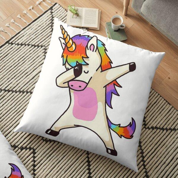 Unicorn Dab Floor Pillow