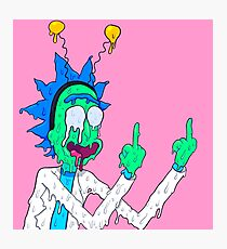 Rick Sanchez Photographic Print