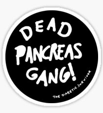 Dead Pancreas Gang! Sticker