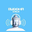 Chillout: BUDDHA CHILLS COOL Dance Culture Graphic Design by VIDDAtees