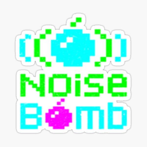 Noise Bomb  Sticker