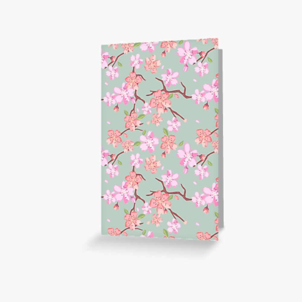 Beautiful Floral Patterns In Japanese Style Japan Colorful