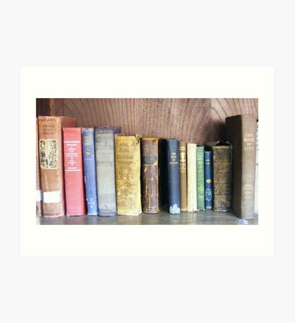 Old Volumes Art Print