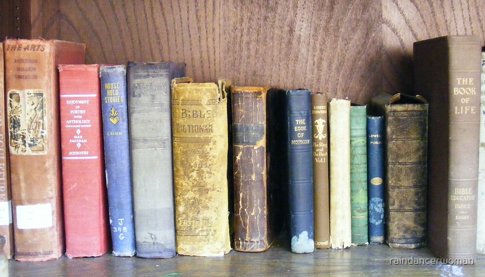 Old Volumes by raindancerwoman