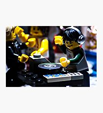 DJ Brick Photographic Print