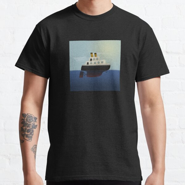 The little big boat on the sea Classic T-Shirt
