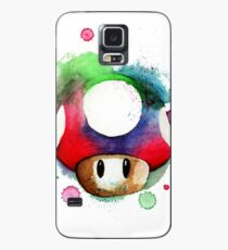 1 UP WATERCOLOR MUSHROOM Design SUPERMARKET Case/Skin for Samsung Galaxy
