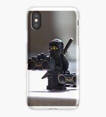 The Black Ninja iPhone Case/Skin