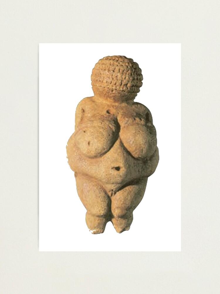 Alternate view of #Venus of #Willendorf #artifact sculpture art figurine statue humanbody #VenusofWillendorf Photographic Print