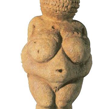 #Venus of #Willendorf #artifact #sculpture art figurine statue humanbody by znamenski