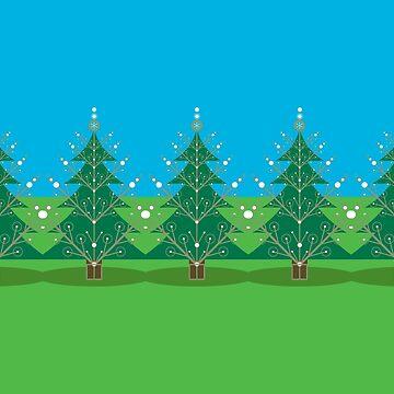 Joyful Trees by Landrigan