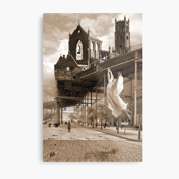 Angels in the Air Metal Print