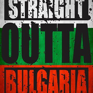 Straight Outta Bulgaria TShirt by andalit