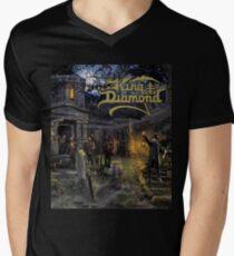 King Diamond - Funeral V-Neck T-Shirt
