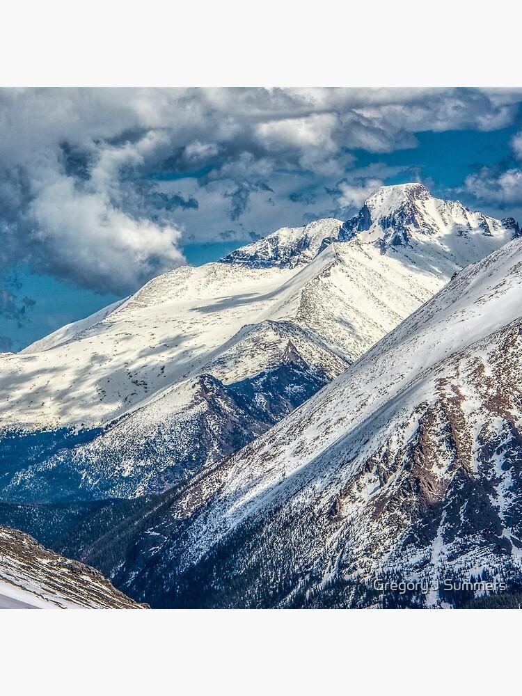 First View Longs Peak by nikongreg