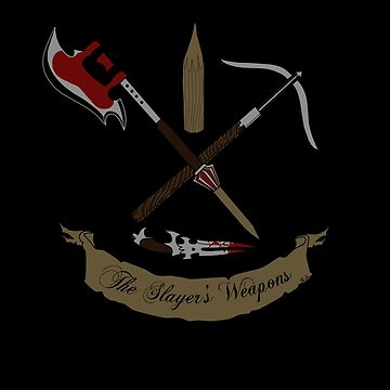 Buffy's Weapons by Jess-P