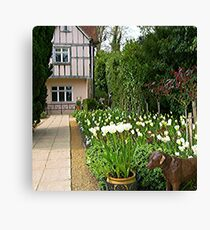 Pashley Manor Gardens Canvas Print