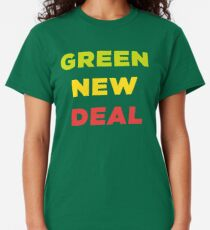 Green New Deal - fight climate change Classic T-Shirt