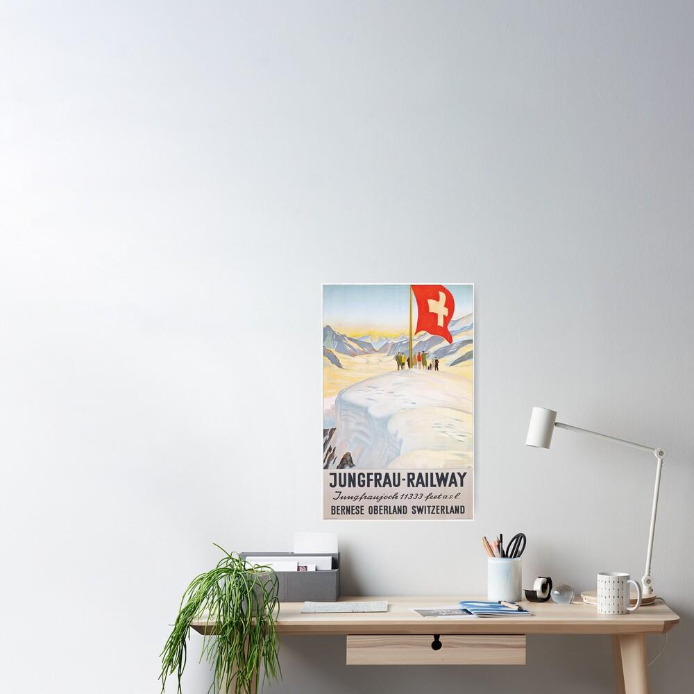 Jungfrau Railway Poster