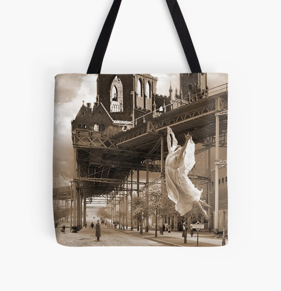 Angels in the Air All Over Print Tote Bag