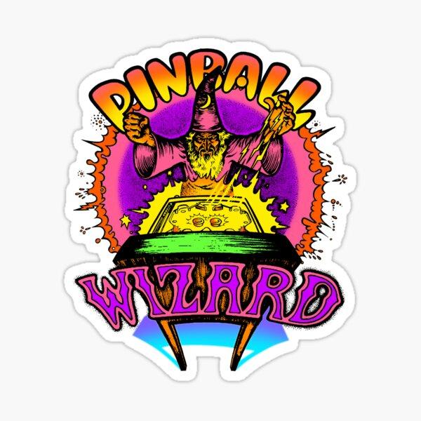 Vintage Pinball Wizard Sticker