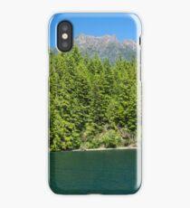 Lake Cushman and Mount Elinor in Summer iPhone Case/Skin
